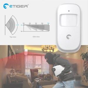Image 5 - Etiger S4 Không Dây GSM/PSTN Nhà Trộm Hệ Thống Báo Động Cảm Biến Chuyển Động Báo Ngoài Trời có Còi Hú Bàn Phím