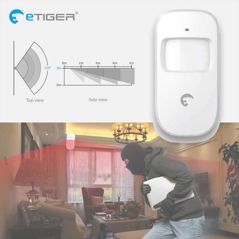 Image 5 - Etiger S4 Wireless Gsm/Pstn Home Burglar Security Alarm System Pir Motion Detector Outdoor with Siren Keypad-in Alarm System Kits from Security & Protection