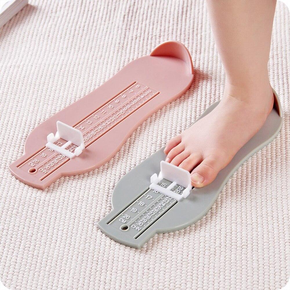 3 Color Baby Foot Ruler Kids Foot Length Measuring Gauge Device Child Shoe Calculator Toddler Infant Shoes Fittings Gauge Tool
