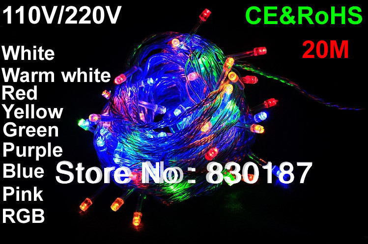 Buy Christmas Lights Outdoor Led 110v