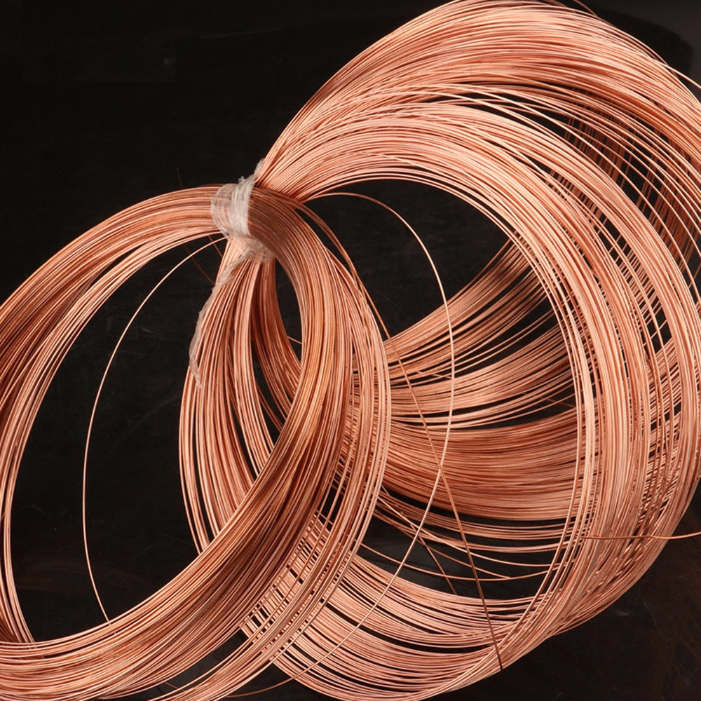 Beryllium kupfer draht C17200 kupfer legierung 0,12mm zu 2,0mm