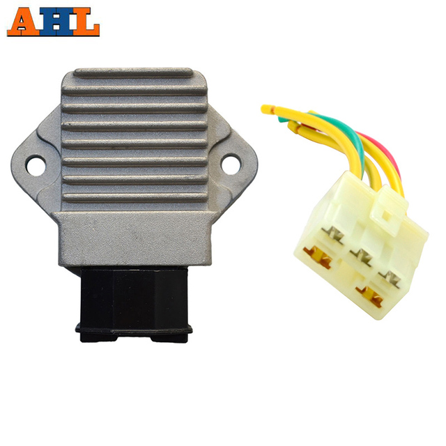 US $12 46 30% OFF|Motorcycle Voltage Regulator Rectifier With Plug Wire For  HONDA CBR250 NSR 250 CB 1 RVF VFR 400 NC35 NC30 CB400 CB 400 -in Motorbike