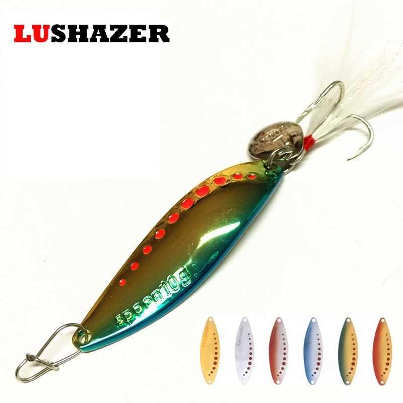 Рыболовная ложка 5 г, 7,5 г, 10 г, 15 г, 20 г, металлические приманки iscas artificiais, приманка для ловли карпа, зимняя подледная приманка, рыболовные снасти