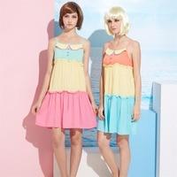 Girl Nightgowns New 100 Cotton Nightwear Spring Dress Casual Loose Nightdress Female Night Shirt Women Sleepwear