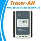 EPever MPPT 40A/30A/20A/10A Контроллер заряда черный светло ЖК дисплей Солнечная Регулятор для 12 В 24 В свинцово кислотная литий ионных батарей