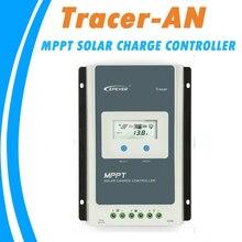 EPever MPPT 40A/30A/20A/10A 솔라 충전 컨트롤러 12V 24V 납산 리튬 이온 배터리 용 블랙 라이트 LCD 솔라 레귤레이터