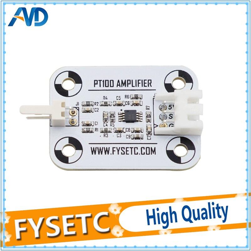 V6 PT100 Amplifier Board PT100 Sensor High Accuracy Temperature Board White Upgrade Amplifier Board 3D printer PartsV6 PT100 Amplifier Board PT100 Sensor High Accuracy Temperature Board White Upgrade Amplifier Board 3D printer Parts