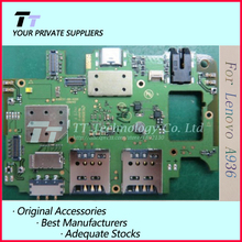 Original work well For lenovo A936 mainboard motherboard board card 1GB RAM flex cable Free shipping