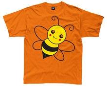 BUMBLE BEE DESIGN BOYS GIRLS T SHIRT GIFT PRESENT XMAS CHRISTMAS ANIMAL Summer Short Sleeves Cotton T-Shirt Print Shirt Men
