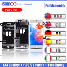 AAA+++ LCD For iPhone 8 8G A1863 A1905 A1906 Display 3D Touch Screen Full Set Digitizer Assembly Replacement Tested