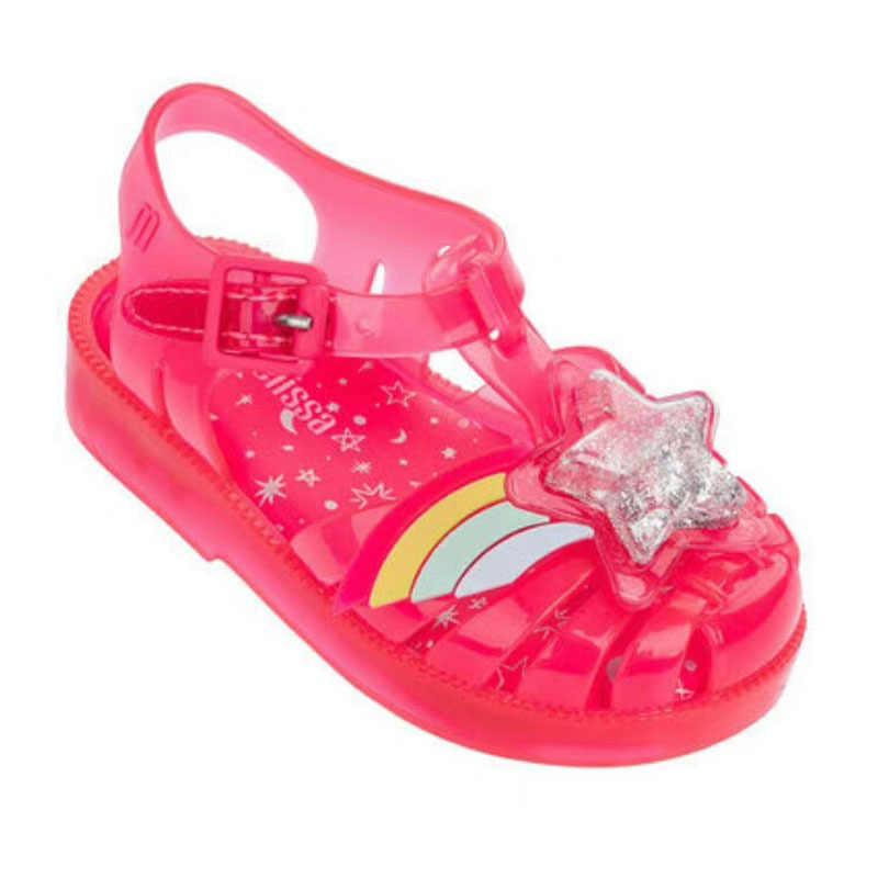 0ebd2d7003 Melissa Shoes 2019 Summer New Roman Boy Girl Sandals Brazil Jelly Sandals  Melissa Children Sandals Beach Shoes Non-slip Toddler