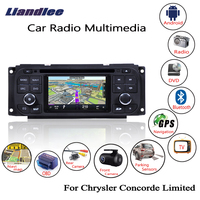 Liandlee For Chrysler Concorde Limited 1998~2004 Android Car Radio CD DVD Player GPS Navi Navigation Maps Camera OBD TV Screen