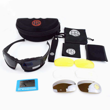 High Quality Tactical Goggles X7 Polarized Military Airsoft