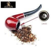 Versione aggiornata dei tre bachelite tubo di Fumo del metallo di tabacco filtro può essere lavato in il novizio liquidazione entry speciale