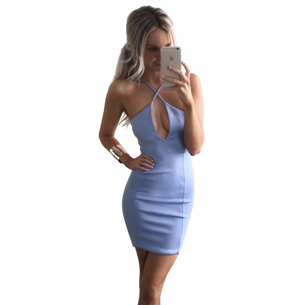 HTB11jZyLXXXXXaaXVXXq6xXFXXXC - Sexy Backless Halter Women Summer Dress Deep V-neck PTC 195