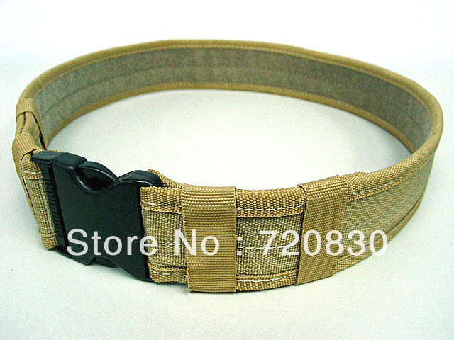 Combat BDU Airsoft 2 Duty Belt Coyote Brown BK OD ...