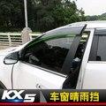 Окна автомобиля дождевик укрытия покрытие ABS солнцезащитный козырек подходит для 2016 2017 Новый KIA Sportage KX5 автомобильный Стайлинг