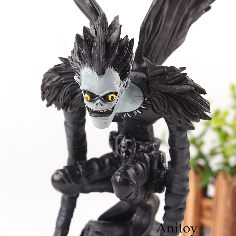 Us 11 62 20 Off Death Note Figurines Official Movie Guide Ryuuku Pvc Deathnote Ryuk Action Figure Collection Model Toys In Action Toy Figures From