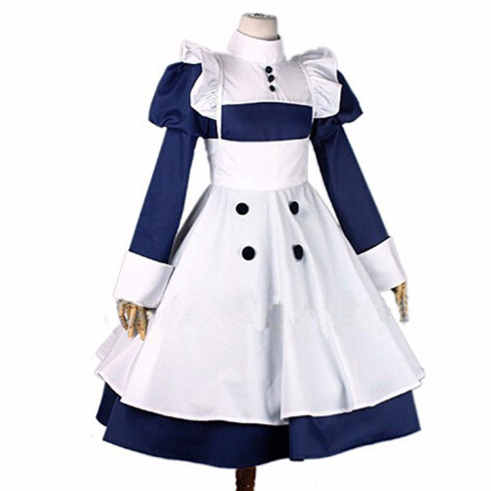 2018 Japanese anime Black Butler Kuroshitsuji Mey Rin Cosplay Costume Custom Made Cosplay costumes Multi-styles
