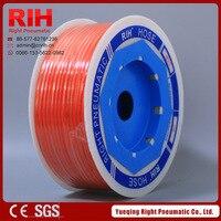Pneumatic 8 5mm Plastic Pu Tube Orange Color