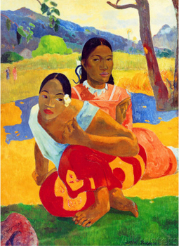 Nafea Faaipoipo (When are You Getting Married) by Paul Gauguin oil Painting Canvas High quality hand painted Art Reproduction
