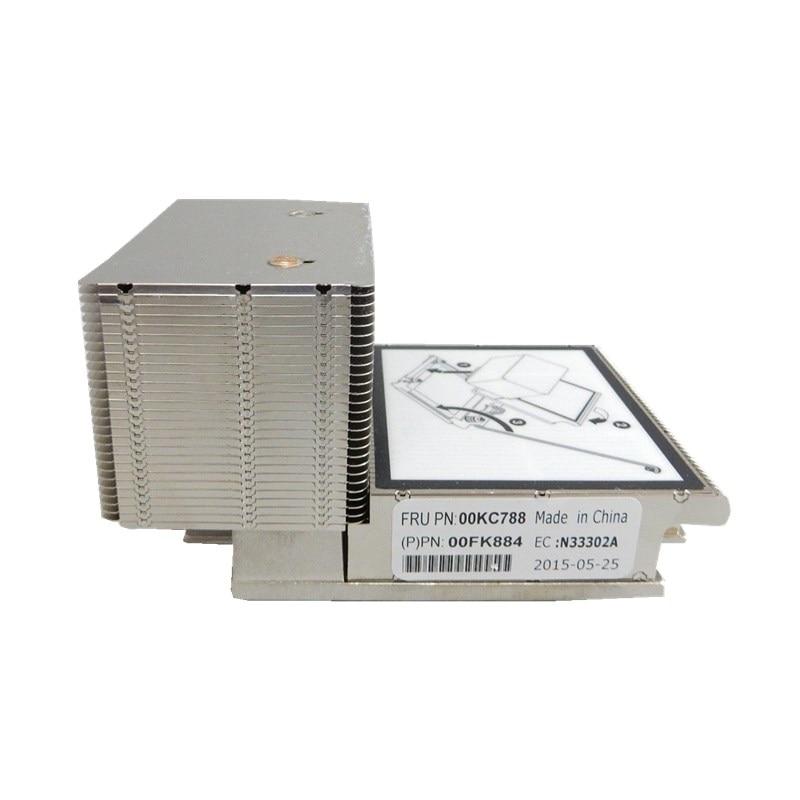 Server Processor CPU Fan Unit for System x3650 M5 00MU053 X3650 M5 v3 v4 heatsink 00KC788