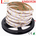 5M 300 PCS SMD 3528 Non-Waterproof DC 12V White/Warm White/Red/Green/Blue/Yellow LED Strip Light Ribbon Better Than SMD5050 5630
