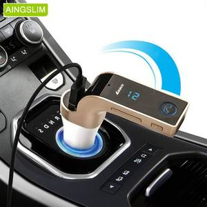 4-in-1 Wireless LCD Display Car MP3 Music Player Bluetooth FM Transmitter Car Kit MP3 Hands Free Mic Support TF Card USB Port