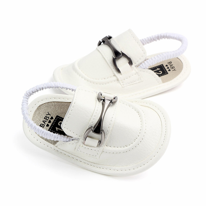 PU Leather Baby Boy Summer Shoes Newborn Infant Crib Shoes For Boys Toddler Baby First Walker Shoes