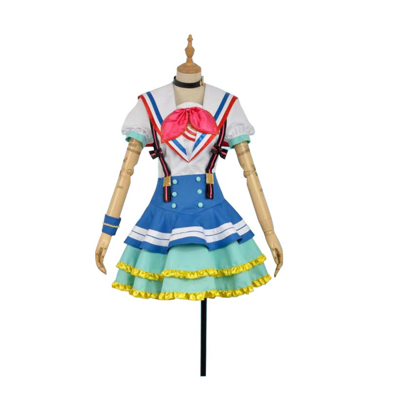 Lovelive Sunshine Jumping Heart Kurosawa Ruby Cosplay Costume Perfect Custom For You