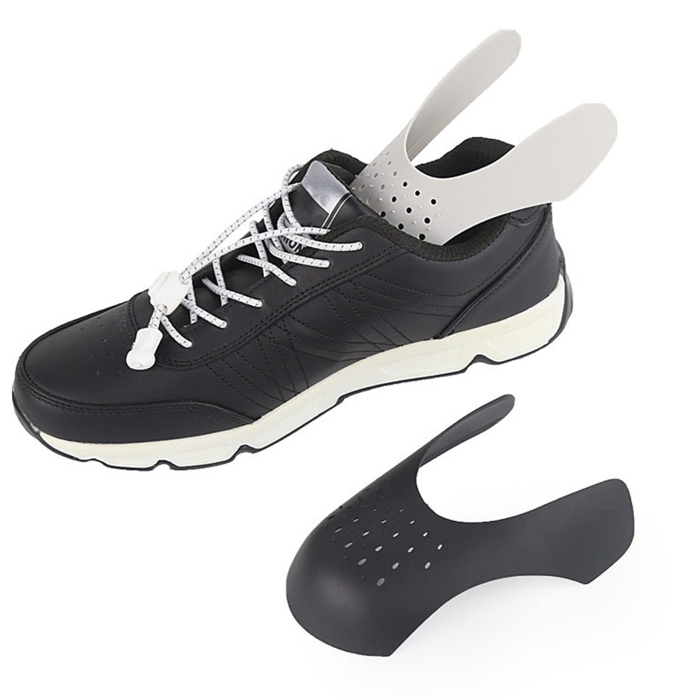 1 Pair Expander Toe Cap Support Shoe Stretcher Practical Anti Crease Lightweight Protector Sneaker Shield Bending Crack Shaper