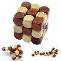 3D Деревянные Головоломки Игрушки Магический Кубик Развивающие Логические IQ Mind Game Для Детей Взрослых Змея Форма