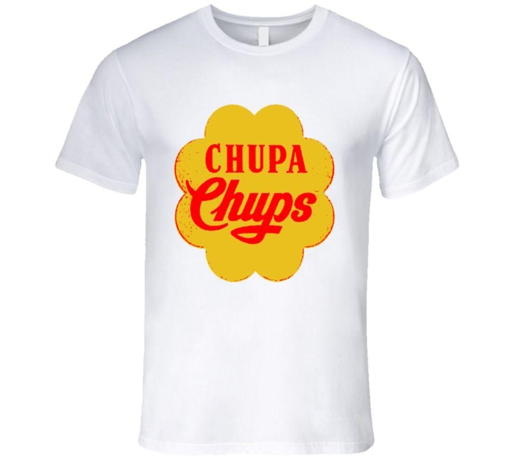 Chupa chups, lollipop, 90 s classico, migliore della caramella Della MAGLIETTA Del Fumetto t camicia degli uomini Unisex di Nuovo Modo della maglietta di trasporto libero divertente tops