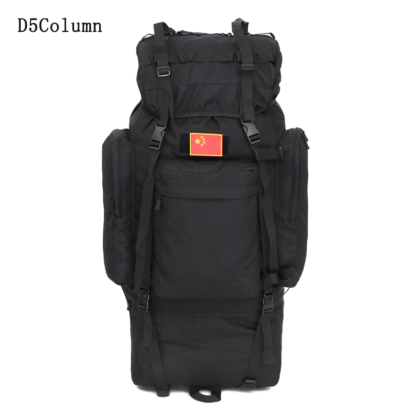 Outdoor 100L large capacity Tactical Climbing backpacks Waterproof nylon travel sport hiking climbing camping bags men