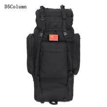 100L gran capacidad Táctica de Escalada mochilas de viaje de nylon Impermeable al aire libre senderismo escalada deportiva de camping bolsas hombres mochila
