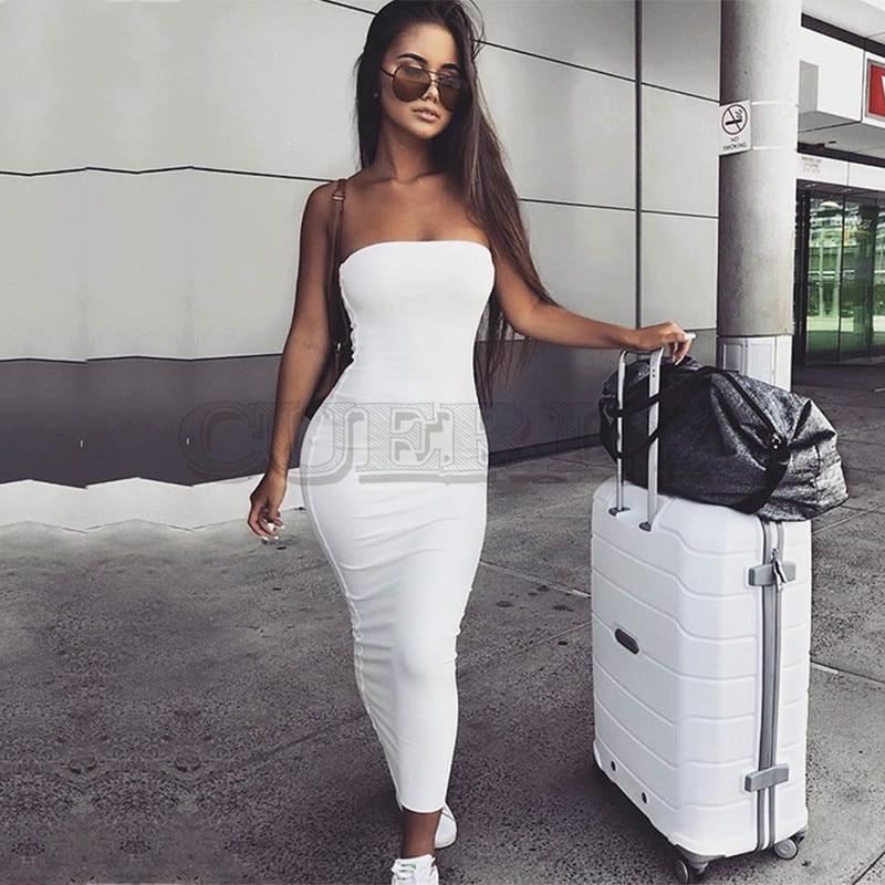 CUERLY Garden 2 Layers 2019 Cotton Summer Dress Women Autumn Maxi Sexy Bodycon Long Dresses White Midi New