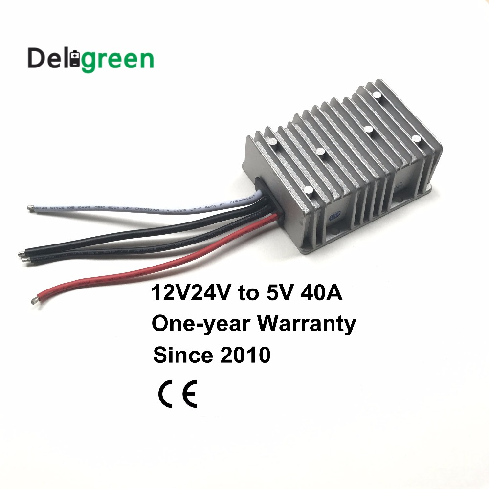 12V 24V to 5V 40A 8V to 40V wide input DC DC Converter 200W Regulator Car Step Down Reducer Buck converter free shipping free shipping l78s12cv l78s12 to 220ab regulator original product