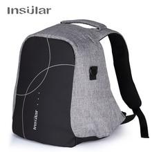 Инсулярный Анти-Вор для мамы рюкзак большой емкости водонепроницаемая сумка для детской сменной одежды рюкзак для подгузников Детский рюкзак для пеленок