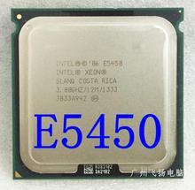 XEON E5450 CPU 3 0GHz L2 Cache 12MB Quad Core FSB 1333MHz server Processor working on