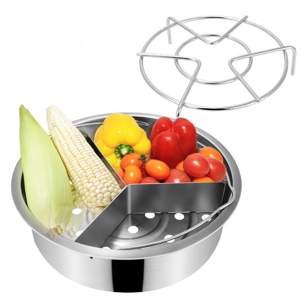 Steamer Basket Rack Set For Pressure Cooker Accessories Fits For Pressure Cooker