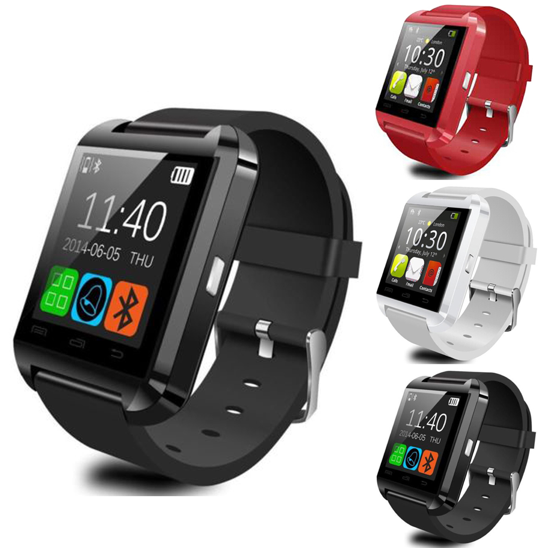 Meboyixi  Bluetooth Smart Watch U8 Smartwatch U Watch For iOS iPhone Samsung Sony Huawei Xiaomi Andr-in Smart Watches from Consumer Electronics on AliExpress