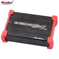 MiraBox Full HD USB3.0 1080P HDMI Video Capture Card Box standard for Windows/Linux/Mac HDMI Capture Dongle For USB UVC UAC