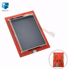 1PCS LCD module TFT 2.4 inch TFT LCD screen for Arduino UNO R3 Board and support mega 2560 with gif Touch pen