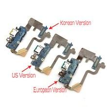 10 قطعة/السلع الوافدين الجدد مايكرو شاحن يو اس بي موصل هيكلي شحن ميناء ميكروفون فليكس كابل ل LG G7 Thinq G710