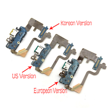 10Pcs/Lots New Arrivals Micro USB Charger Dock Connector Charging Port Microphone Flex Cable For LG G7 Thinq G710