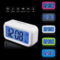 2017 LED Electronic Alarm watch despertador Temperature Sounds Control LED display electronic desktop Digital table clocks New