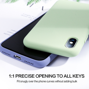 Image 4 - Мягкий силиконовый чехол SmartDevil для iphone 7, 8 Plus, X, XS, 11 Pro, Max, защита экрана из закаленного стекла, полностью покрытый чехол в подарок