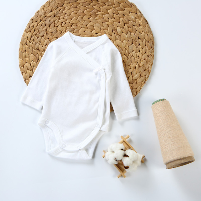 2pc/3pcs/5pcs baby clothes bodysuit boys clothes girl clothes kids long sleeves 100% cotton overalls white baby newborn bodysuit 2