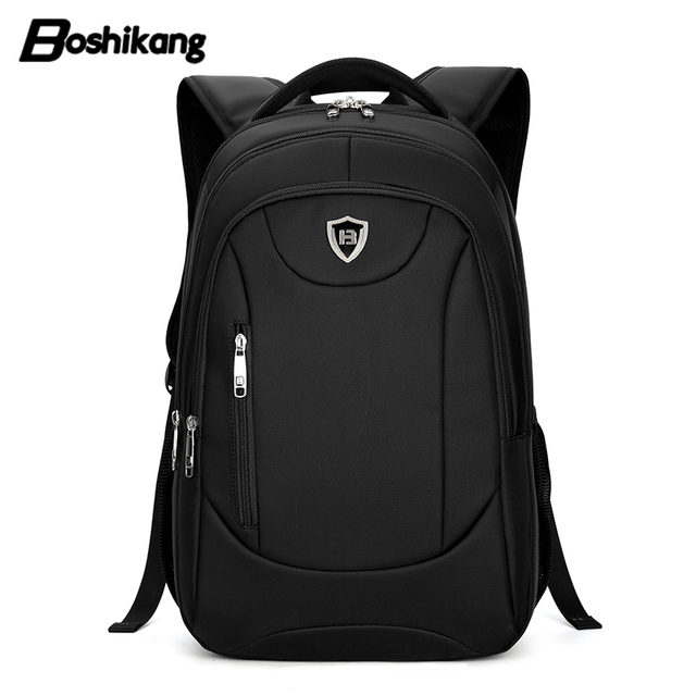 031983edea9 Boshikang fashion travel backpack for men new high quality school bags for male  brand daypack black
