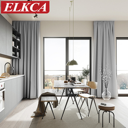 Thermal Insulated Blackout Curtains for Living Room Window Treatment Curtains for Bedroom Soft Blackout Curtains for Baby Room